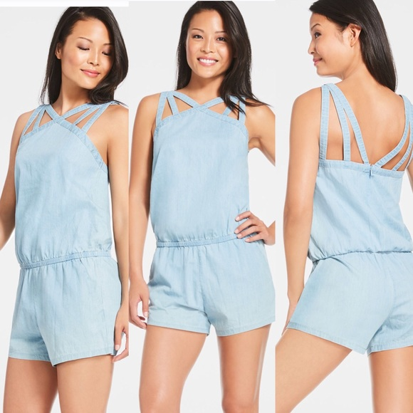 a8b63db15543 NWT Fabletics Liza Romper With Pockets MSRP  84.95
